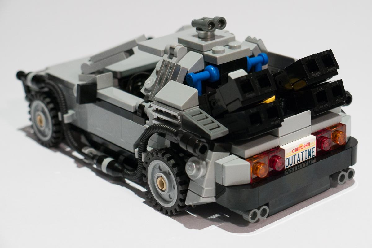 Lego: Back To The Future DeLorean | Gorm Ashurst Photography